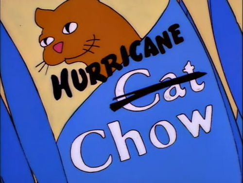 You Will All Have A Chance To Be Gouged The Simpsons Cat Chow Simpson