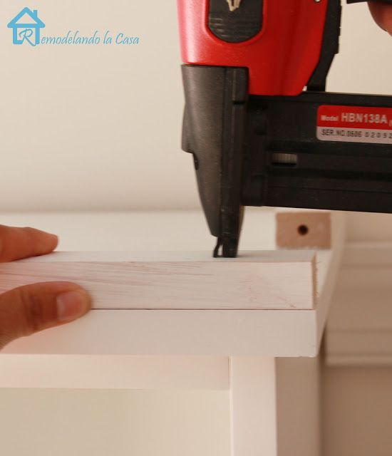 adding crown molding to the top of bookcases | ikea craft