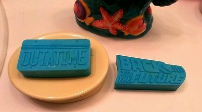 Back To The Future Time Machine License Plate Soap Bar Set Premium Blend