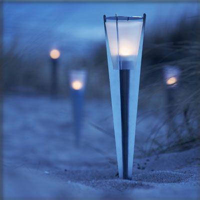 Garden Oil Lamp Torch Herstal Herstal Group Zenit Frosted
