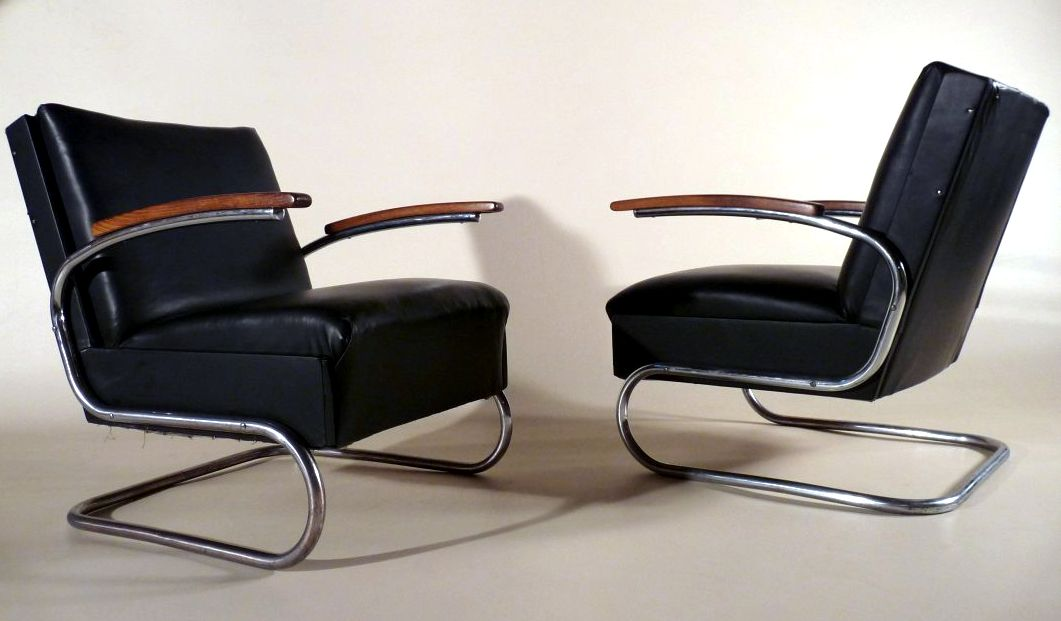 Bauhaus Sessel / Armchair 1930 Eames lounge chair