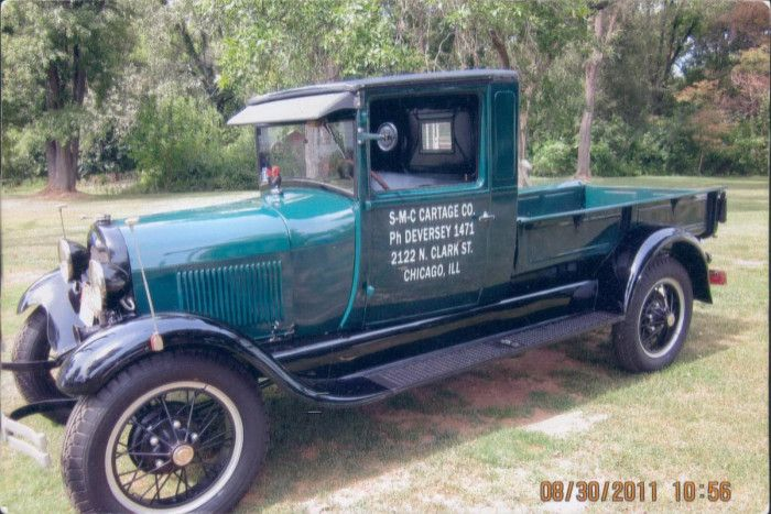 1928 Ford Model Aa Express With Images Classic Pickup Trucks
