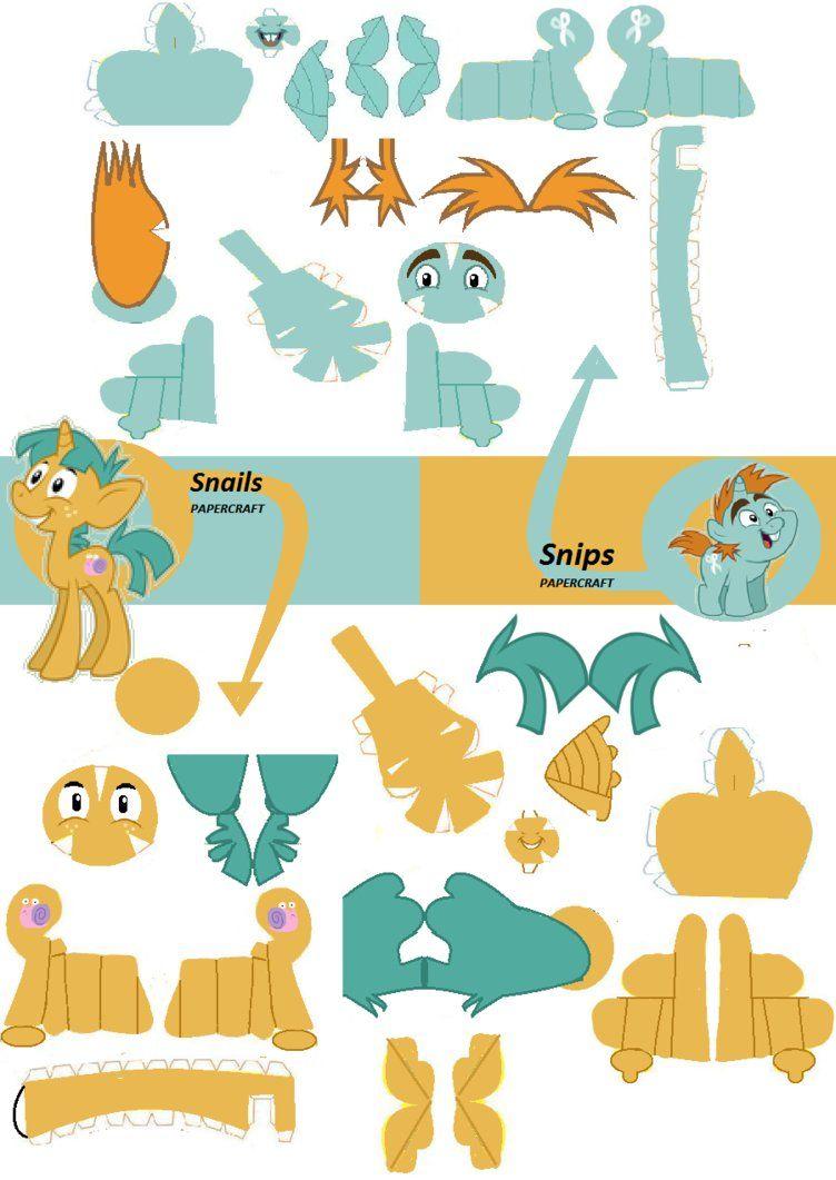My Little Pony Papercraft Google Search My Little Pony Paper