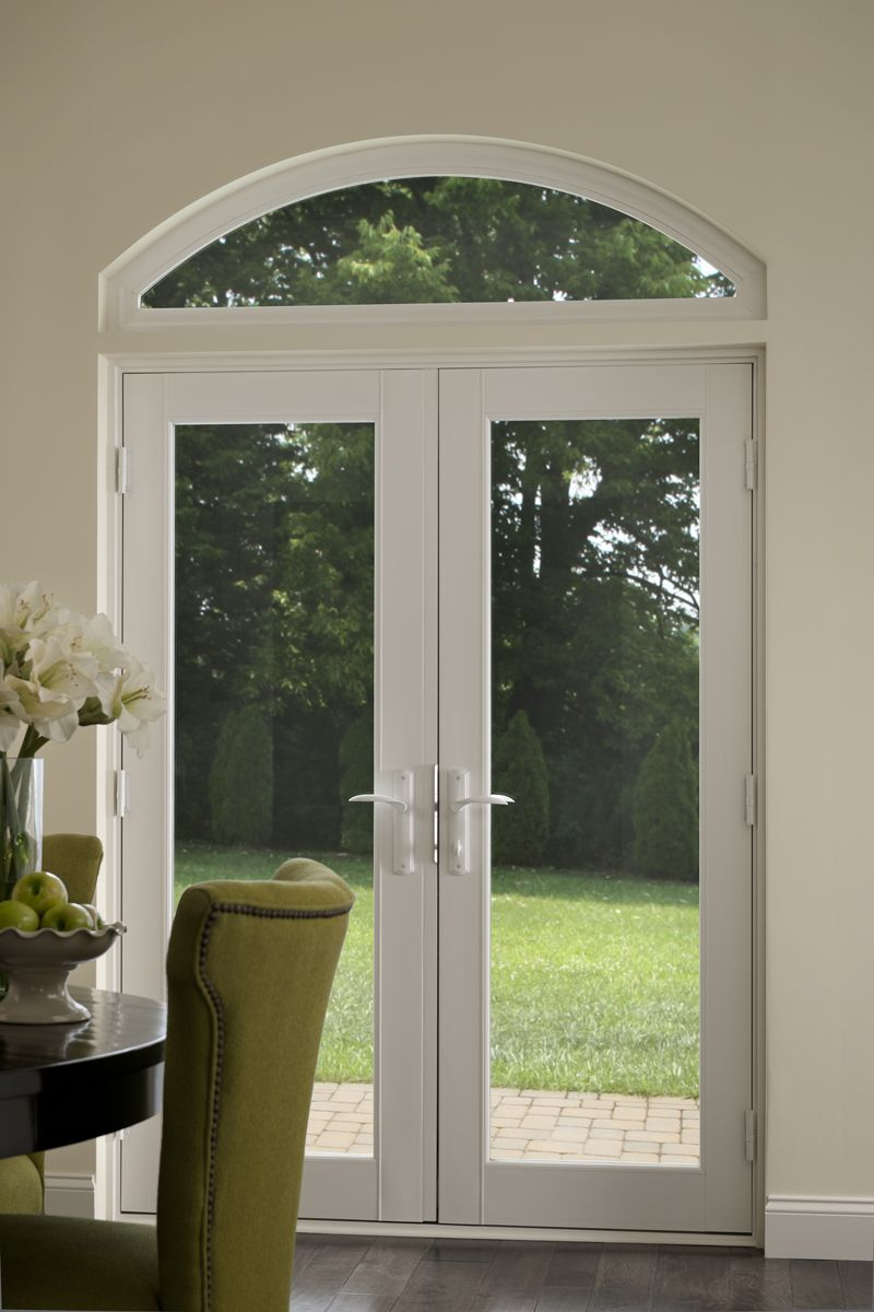 Add some height and luxury to your door with an arched transoms