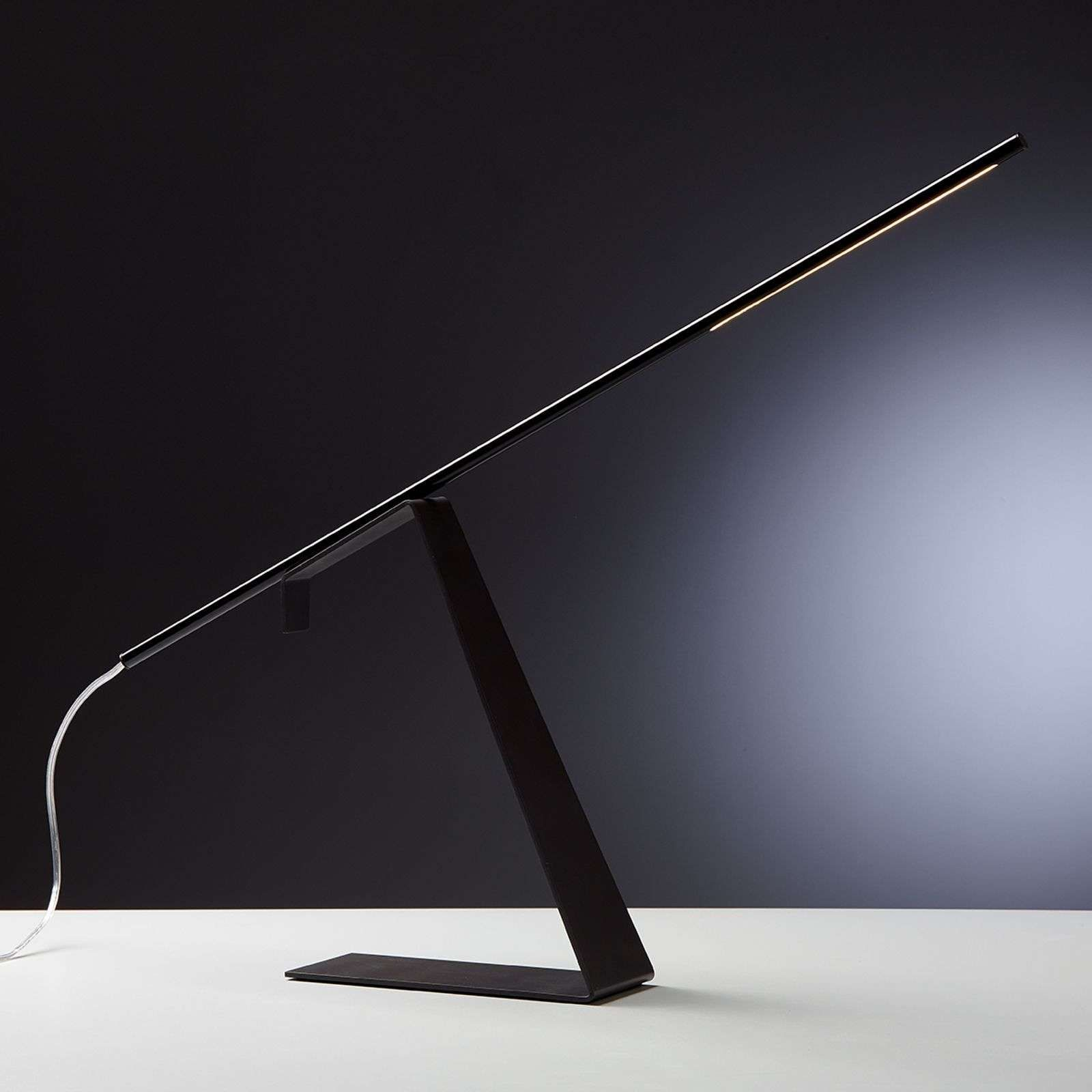 Lampe à Poser Led Design Noire Jella Led Lampe Lampe à Poser