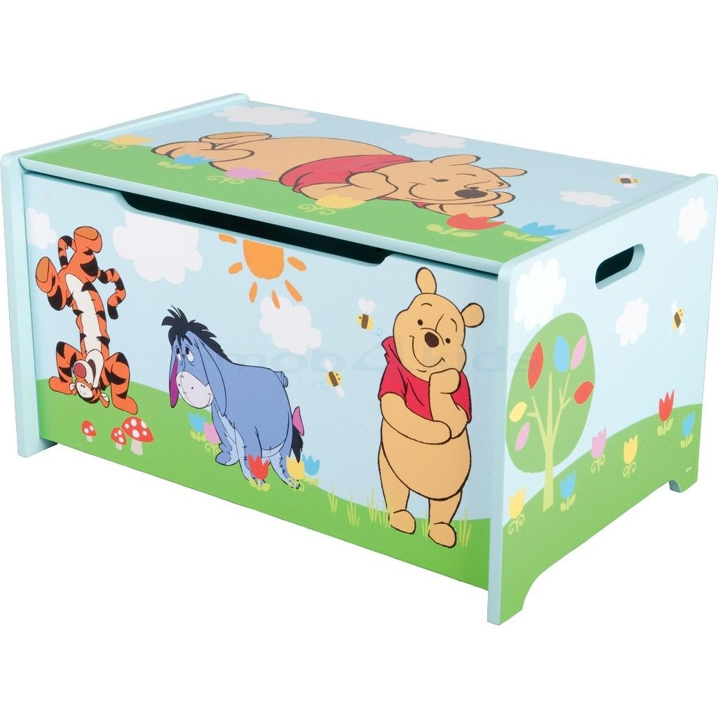 coffre jouets winnie the pooh tout pour. Black Bedroom Furniture Sets. Home Design Ideas