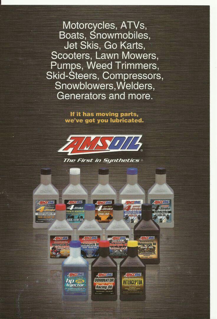 Amsoil For All Your Toys Diesel Oil Go Kart