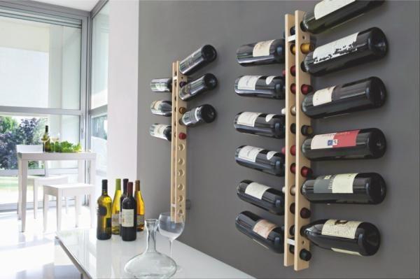 Modern Wine Racks An Impressive Decorative Element In The Interior Kệ Rượu Trang Tri Hầm Rượu