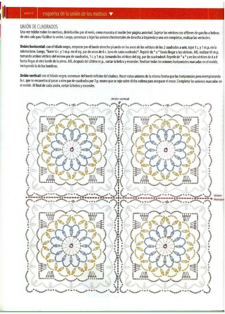 Inspirações de Croche com Any Lucy | chalecos | Pinterest