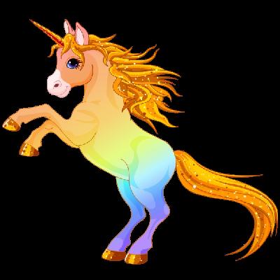 Cute Unicorn Clip Art   Unicorn - Cartoon Animal Images ...