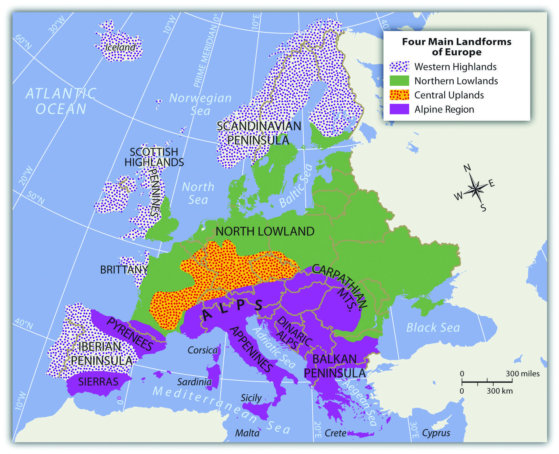 Europe Europe Physical Geography North Sea