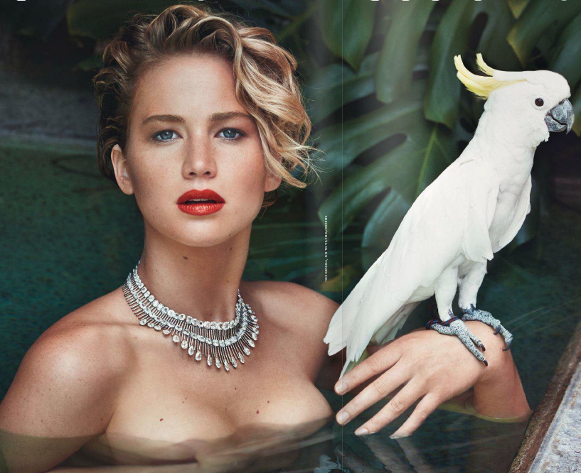 Jennifer Lawrence in Vanity Fair