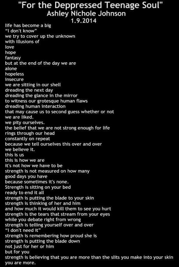 Good Teen Poems 94