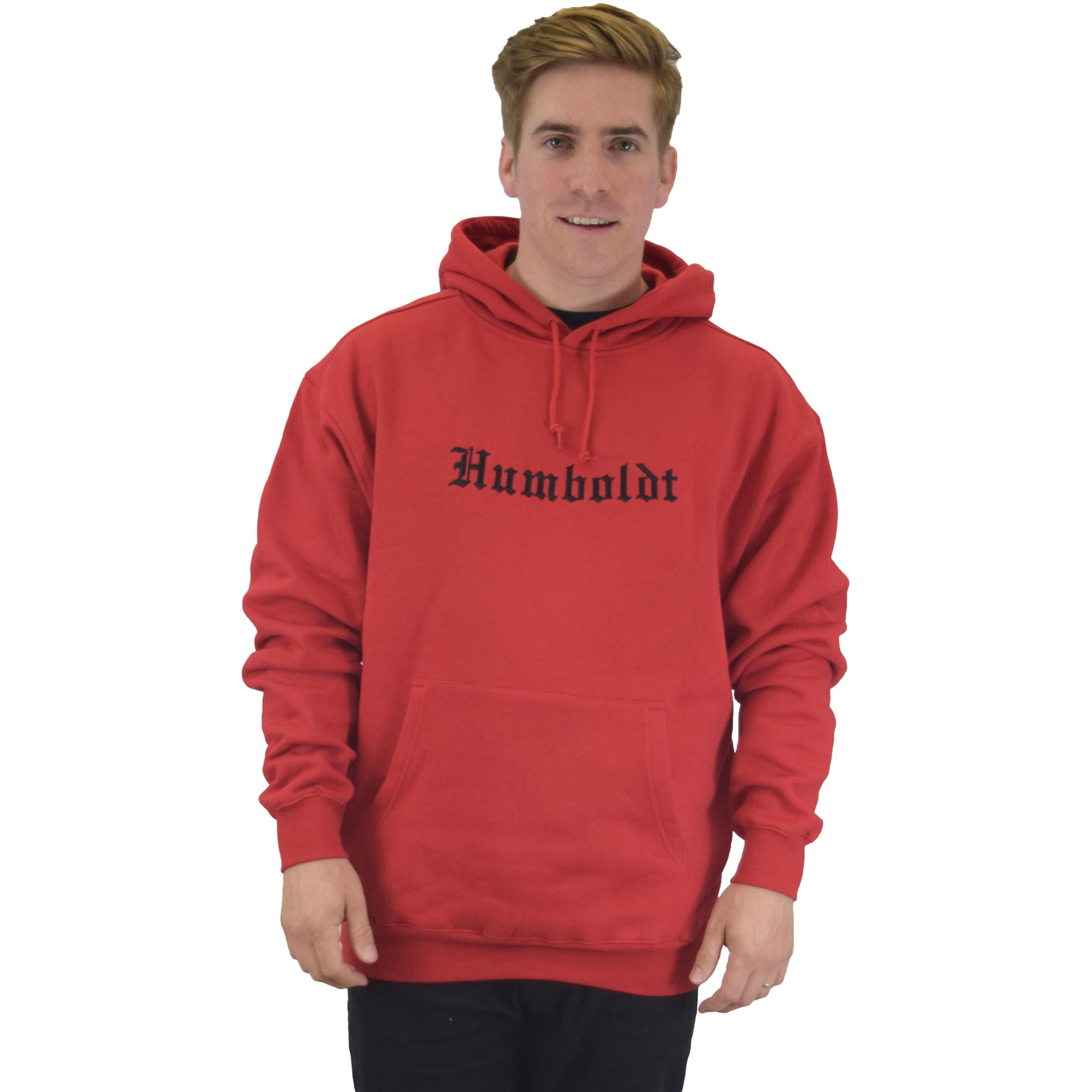 Embroidered Old English Pullover Hoodie