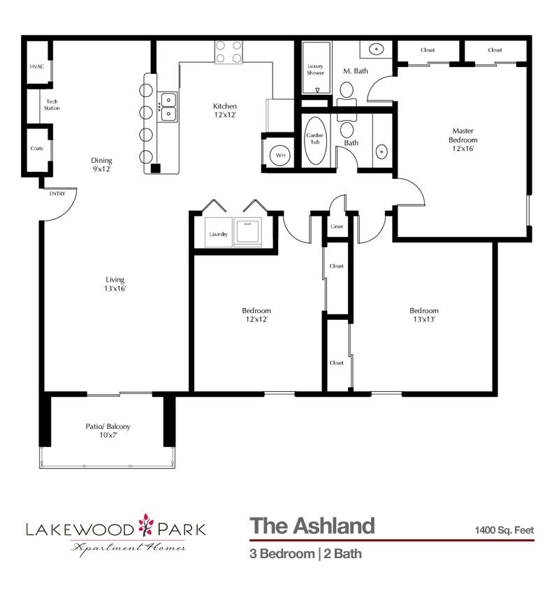 Lexington Square Apartments: Starting At $1,269/ Month 1400 Square Feet