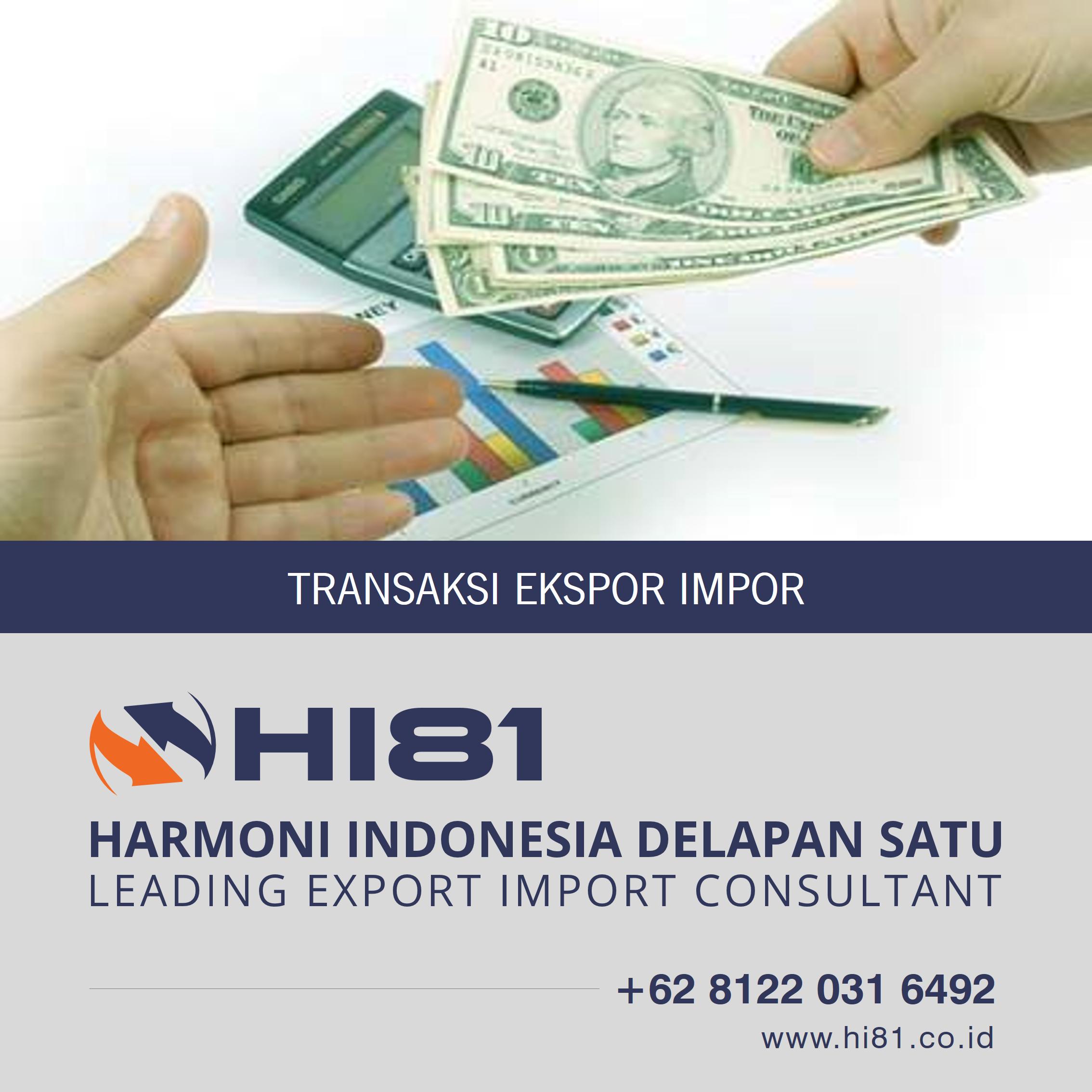 Transaksi Ekspor Impor Wa 62 8122 031 6492 White Out
