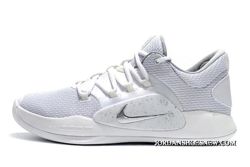 New Release Nike Hyperdunk X Low Ep White/Pure Platinum