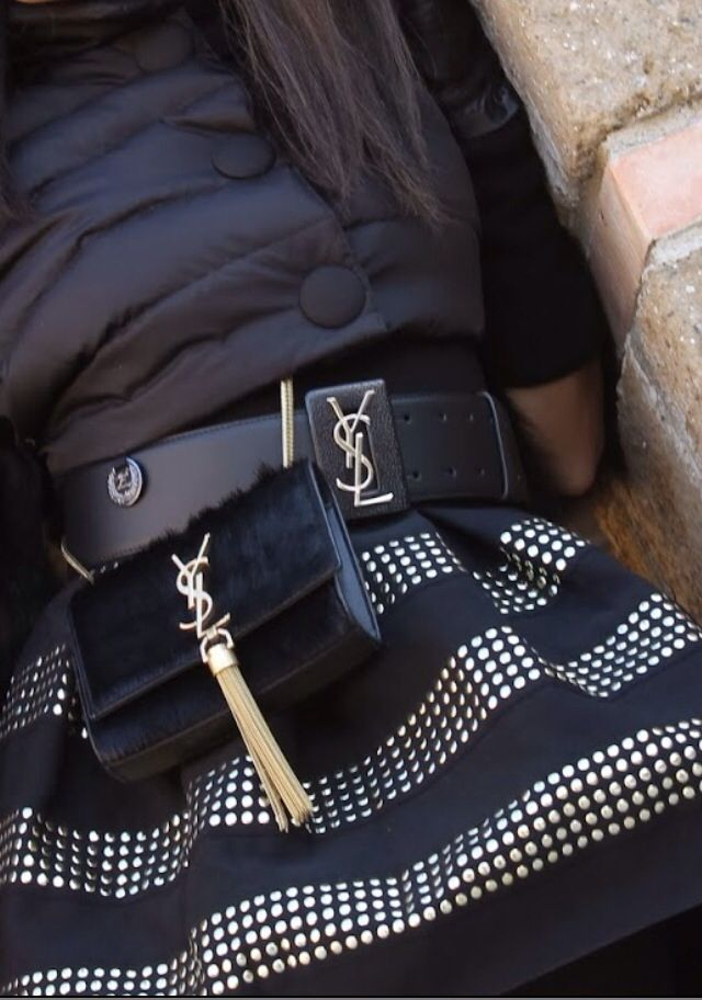 YSL belt+bag