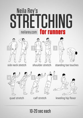 Stretching For Runners Workout