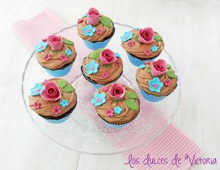 Los Dulces de Victoria: Choco-Choco Cupcakes