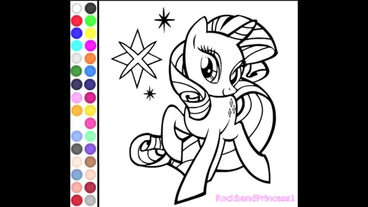- Little Pony Coloring Online (With Images) My Little Pony