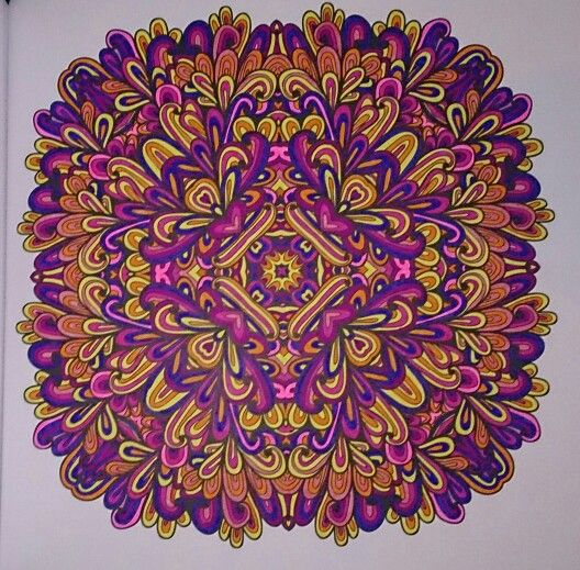 mandala kleurplaten effect
