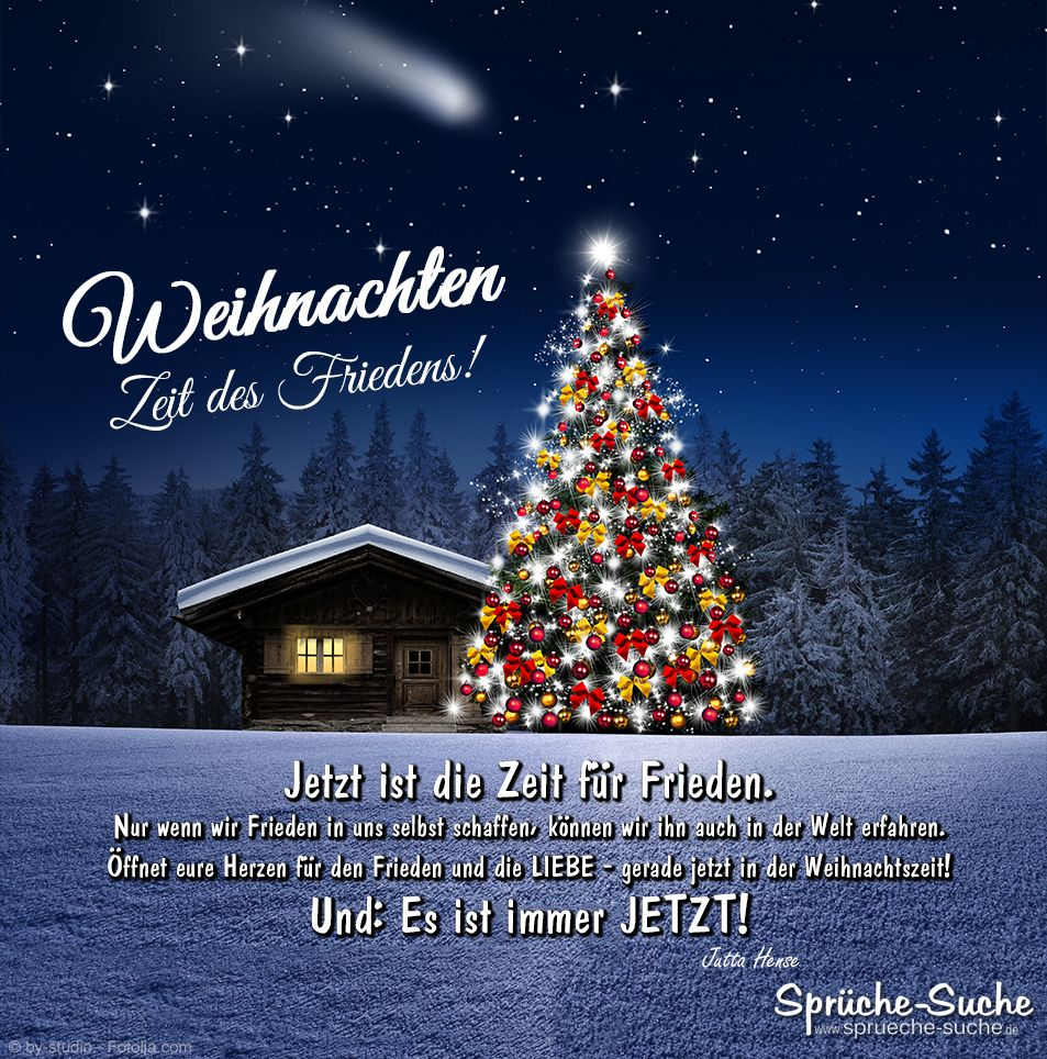 Weihnachten - Zeit des Friedens! | Gedanken zu weihnachten ...