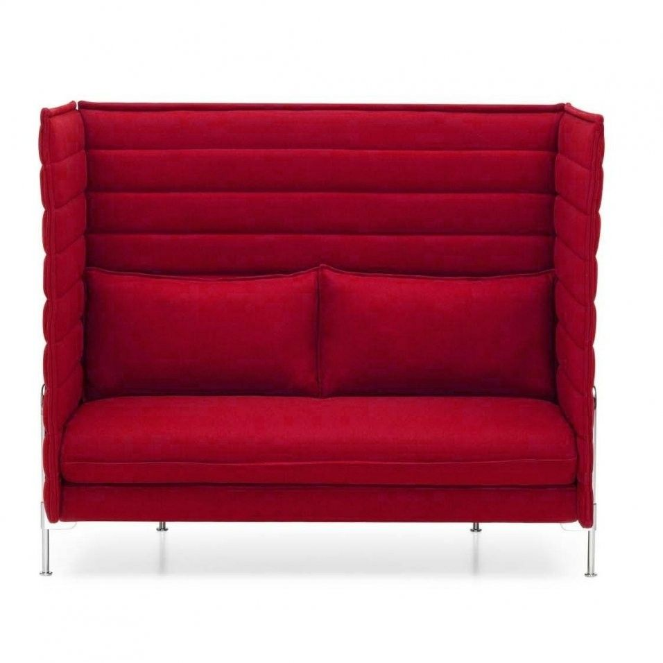 Vitra Alcove Highback 2sitzer Sofa Von 2 Sitzer Sofa Rot In 2020