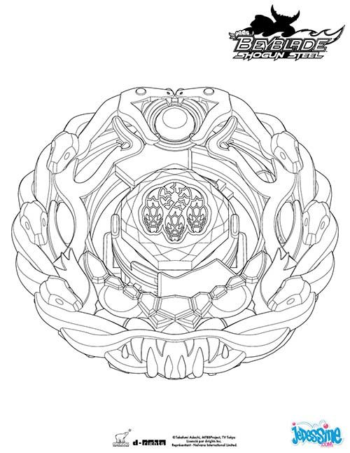 Coloriage BEYBLADE Orochi | Holidays and events en 2018 | Pinterest ...