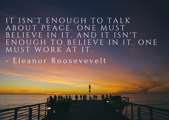Words of Eleanor Roosevelt