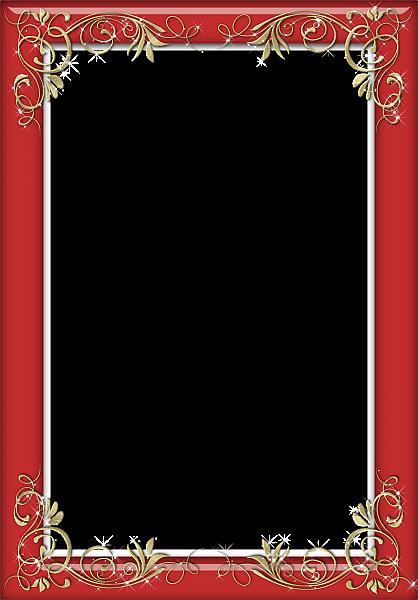 Holiday Red Transparent Frame Frame Border Design Boarders And Frames Frame Clipart