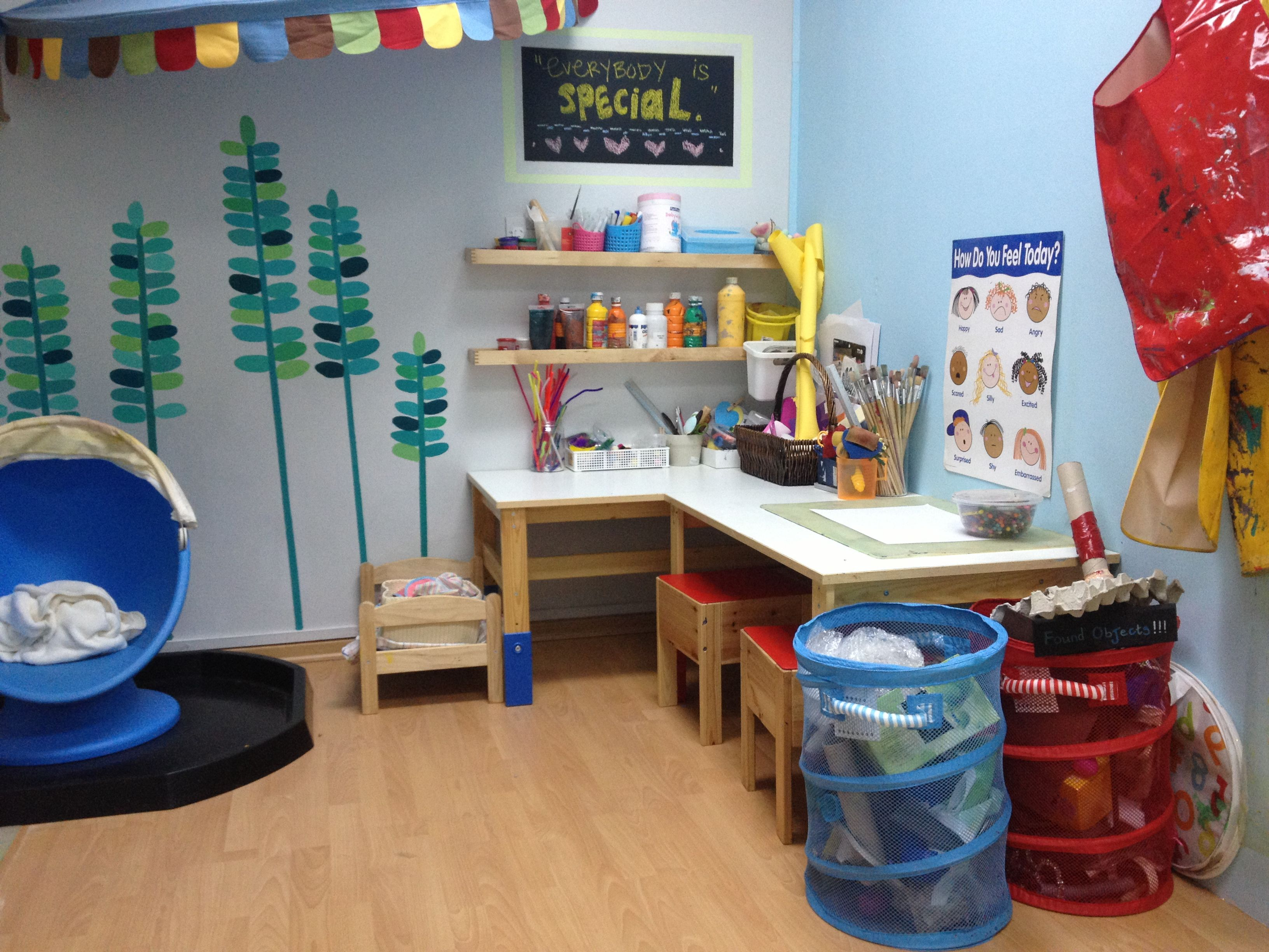 Counseling Room Design Ideas Part - 34: Art And Play Therapy Room