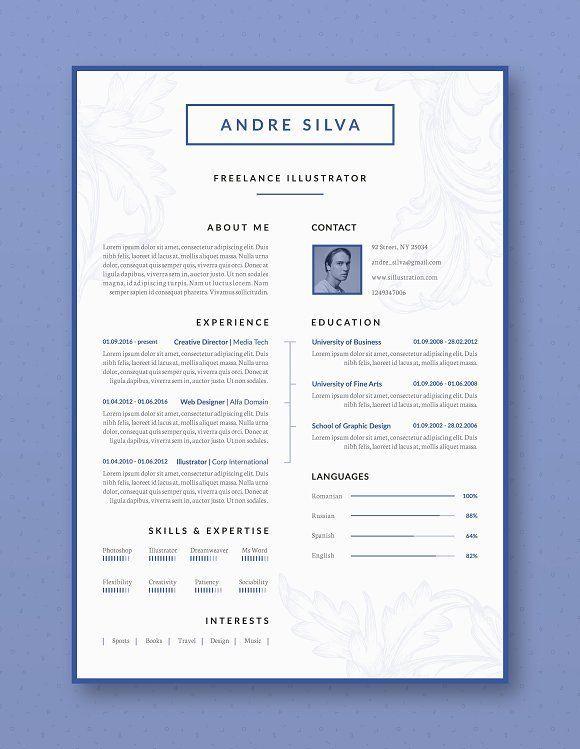 Professional Resume / CV Template @creativework247 Resume