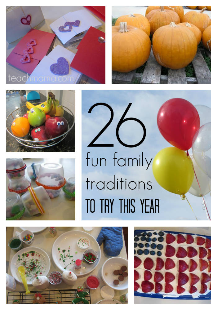 26 cool  new family traditions to start in the new year