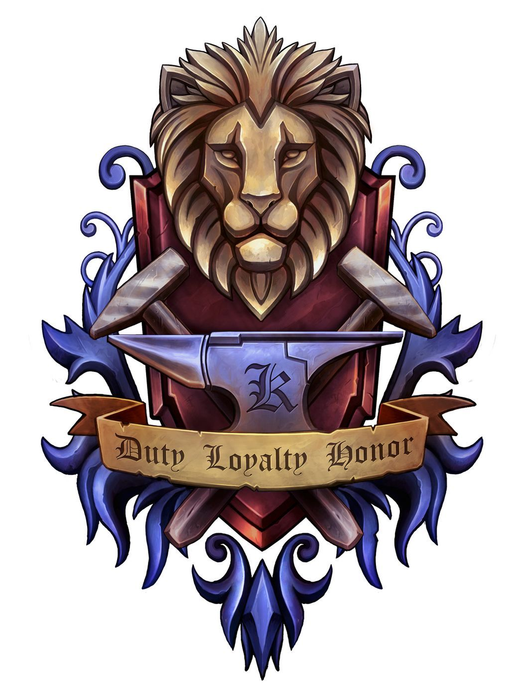 Coat of arms for k by charfade on deviantart in 2020