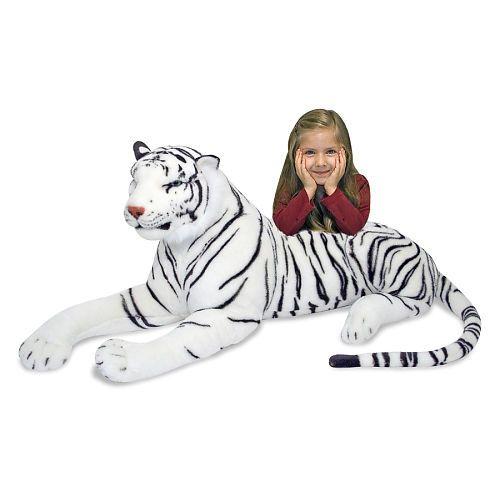 Melissa Doug Lifelike And Lovable Plush Tiger Melissa Doug
