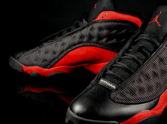 8cc401fd369 Air Jordan XIII - Black - Varsity Red - White - SneakerNews.com ...