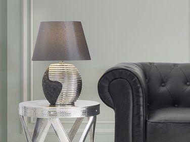 Lampe A Poser Lampe De Salon De Chevet De Bureau Noir Et
