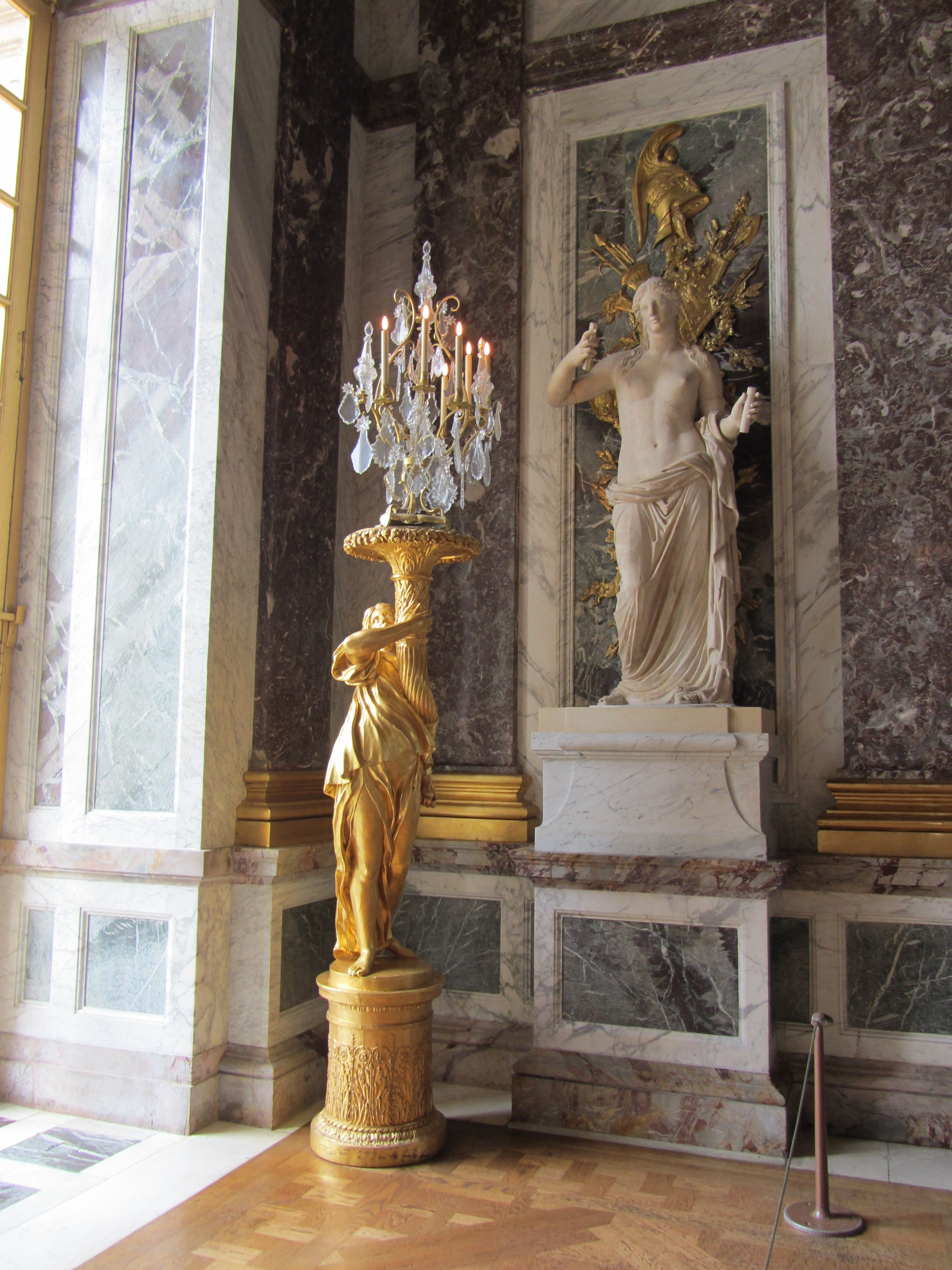 Interiors France Versailles Castle Interior Detail France French