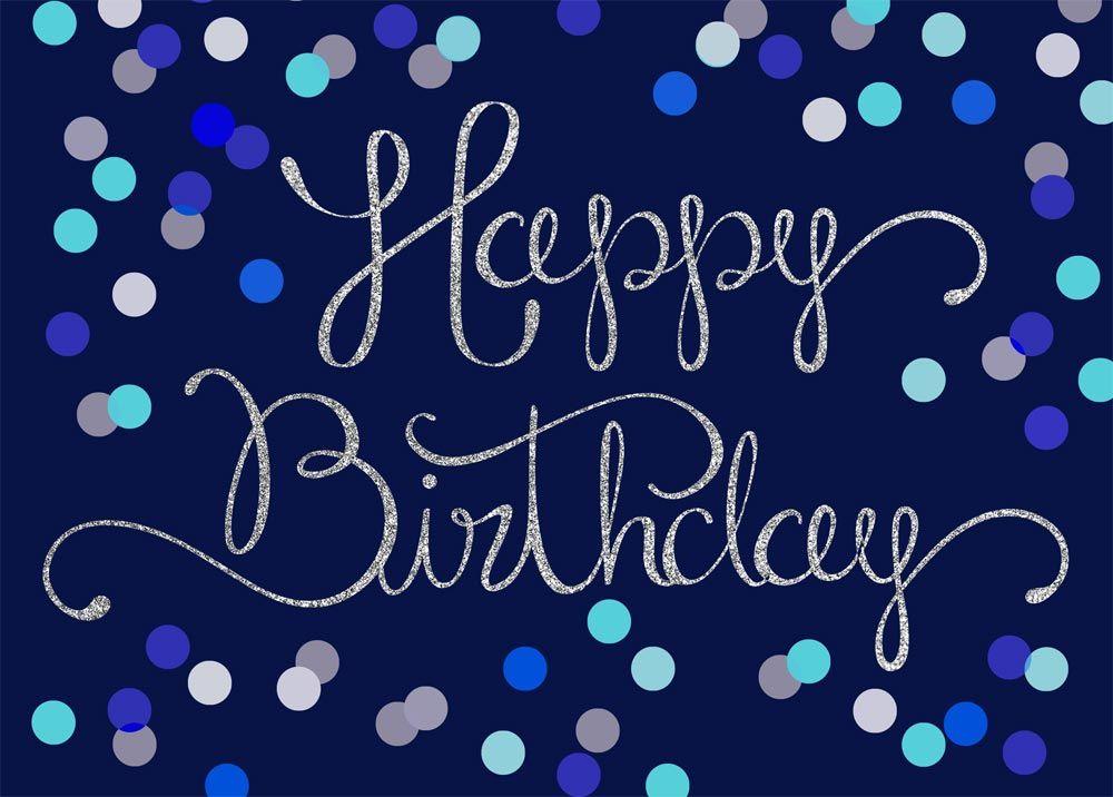 Dots And Swirls Birthday Happy Birthday 3 Birthday Happy