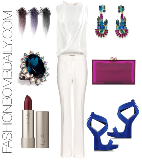 dc1e4c3062da2 Spring 2013 Style Inspiration  What to Wear to an All White Party - The Fashion  Bomb Blog   Celebrity Fashion