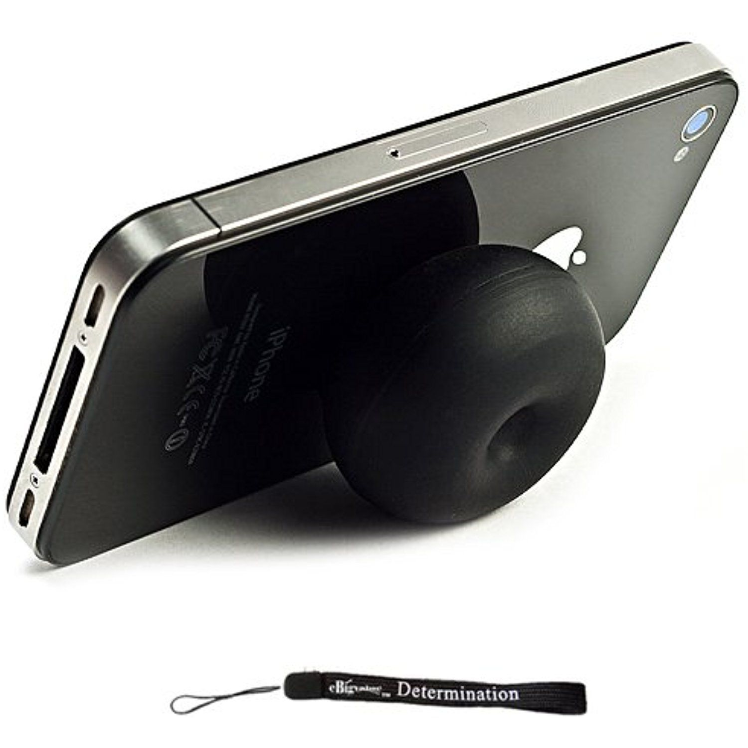 Black Silicone Suction Stand ( Compatible with: Apple iPhone Apple ...