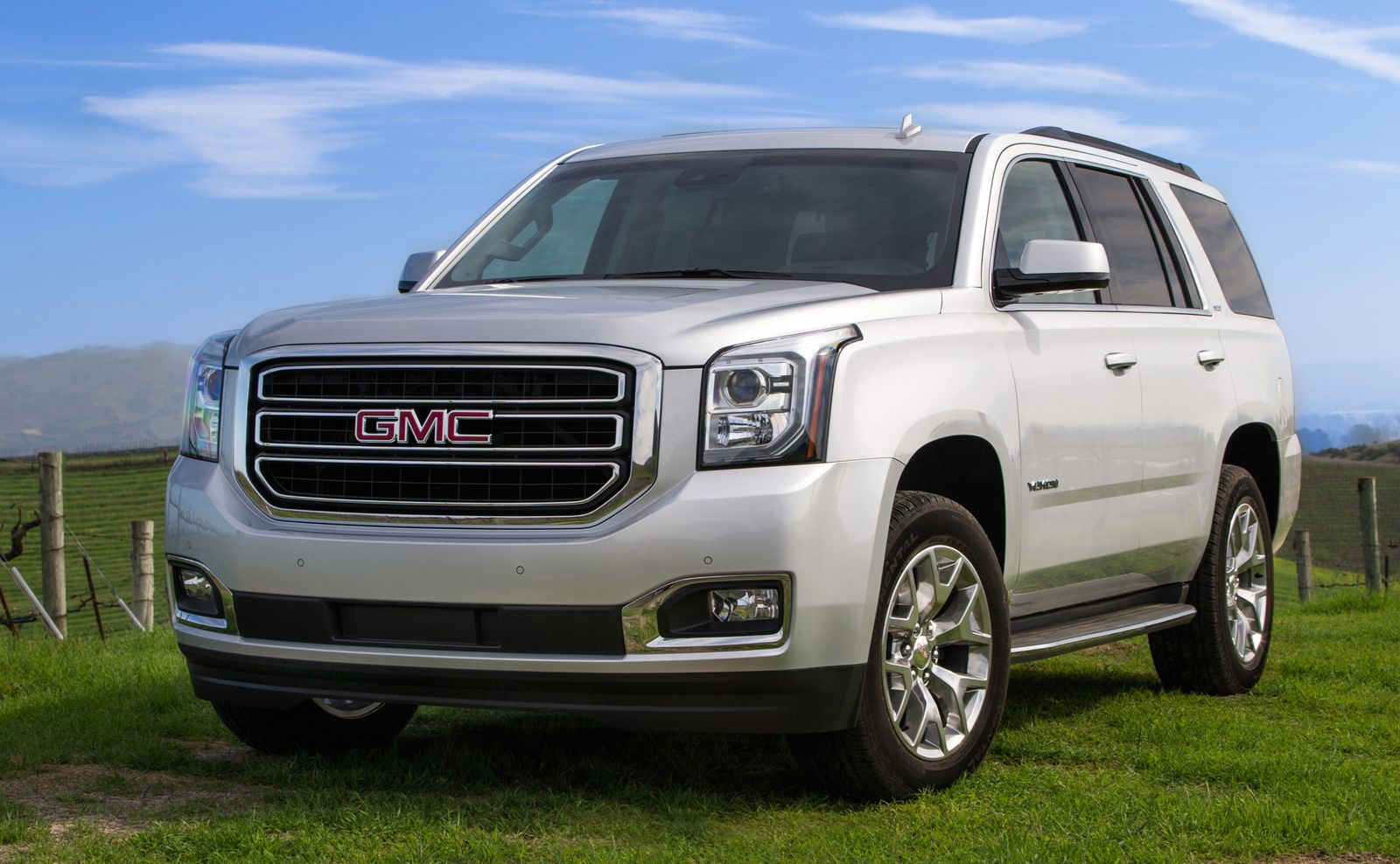 Front Quarter View Copyright General Motors Gmc Yukon Gmc