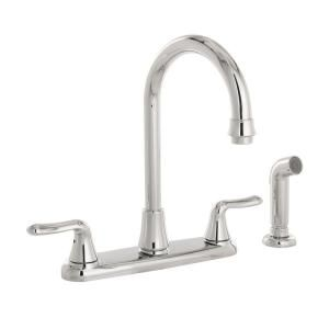 Pekoe 1 Handle Pull Down High Flow Kitchen Faucet American