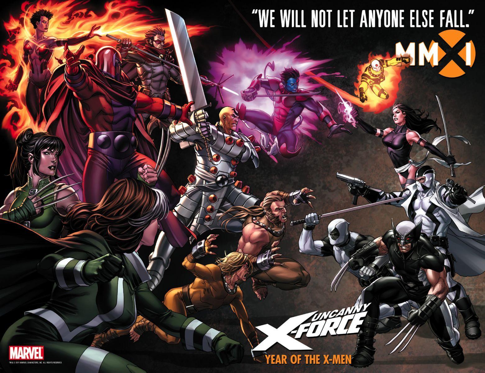 Uncanny X-Force (Psylocke, Archangel, Wolverine, Deadpool