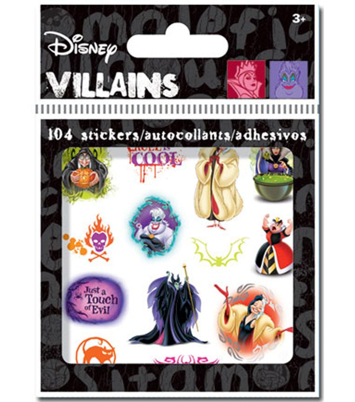Disney Villan Stickers Bits