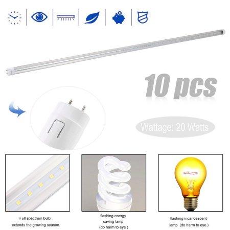 1 2m T8 Tube Light 85v 265v Super Bright Fluorescent Lamp Led Wall