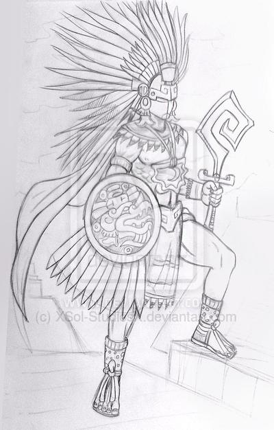 Guerrero Quetzalcoatl * by XSol-StudiosX on DeviantArt | Kukulcan ...