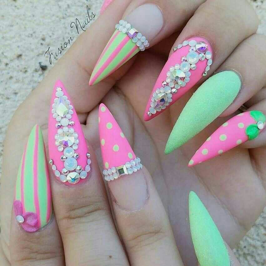ριитєяєѕт @IIIannaIII | nail art | Pinterest | Diseños de uñas, Uñas ...
