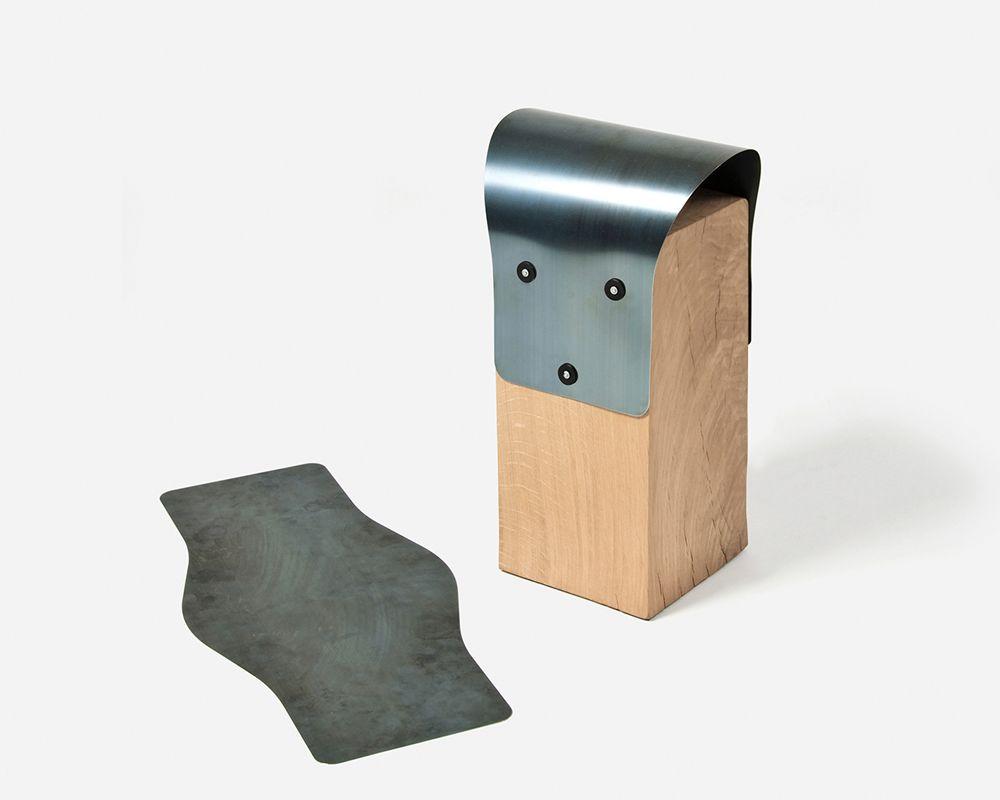 Bang stool - Ishmael and Nathan Studer